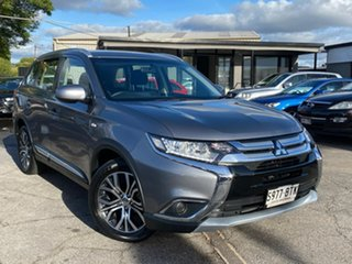 2017 Mitsubishi Outlander ZL MY18.5 ES 2WD Grey 6 Speed Constant Variable Wagon.