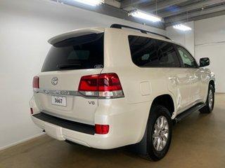 2021 Toyota Landcruiser VDJ200R LC200 VX (4x4) White 6 Speed Automatic Wagon.