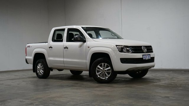 Used Volkswagen Amarok 2H MY17 TDI420 4MOTION Perm Core Welshpool, 2016 Volkswagen Amarok 2H MY17 TDI420 4MOTION Perm Core White 8 Speed Automatic Utility