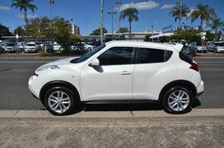 2014 Nissan Juke F15 TI-S (AWD) White Continuous Variable Wagon