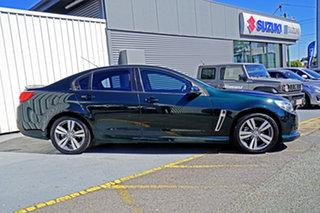 2014 Holden Commodore VF MY14 SV6 Green 6 Speed Manual Sedan