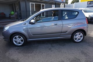2010 Holden Barina TK MY11 Urban Grey 4 Speed Automatic Hatchback.