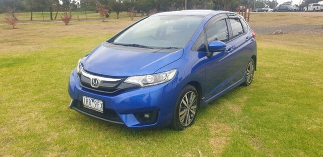 Used Honda Jazz GF MY16 VTi-L Melton, 2016 Honda Jazz GF MY16 VTi-L Blue 1 Speed Constant Variable Hatchback