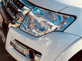 2021 Mitsubishi Pajero NX MY21 Exceed White 5 Speed Sports Automatic Wagon