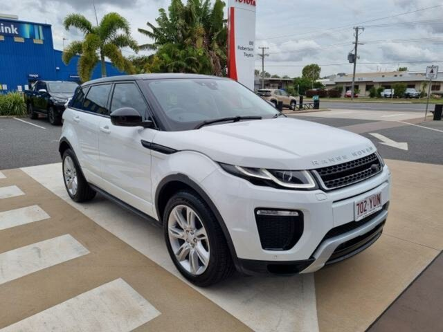 Pre-Owned Land Rover Range Rover Evoque L551 MY20.5 SE Gladstone, 2019 Land Rover Range Rover Evoque L551 MY20.5 SE White 9 Speed Sports Automatic Wagon
