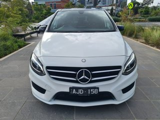 2016 Mercedes-Benz B-Class W246 806MY B200 d DCT White 7 Speed Sports Automatic Dual Clutch