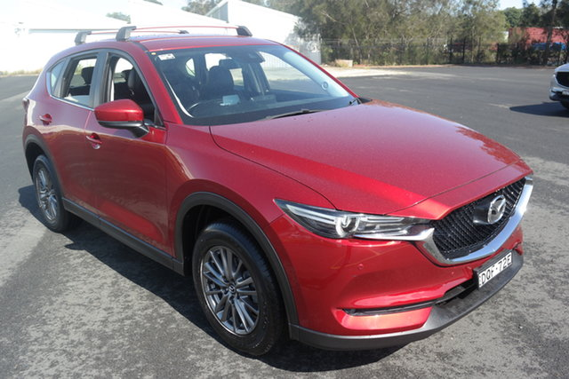 Used Mazda CX-5 KF4WLA Touring SKYACTIV-Drive i-ACTIV AWD Maryville, 2017 Mazda CX-5 KF4WLA Touring SKYACTIV-Drive i-ACTIV AWD Red 6 Speed Sports Automatic Wagon