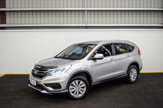 Used Honda CR-V RM Series II MY17 VTi 4WD Canning Vale, 2016 Honda CR-V RM Series II MY17 VTi 4WD Grey 5 Speed Sports Automatic Wagon