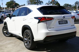2015 Lexus NX300H AYZ15R F-Sport Hybrid (AWD) White 6 Speed CVT Auto Sequential Wagon.