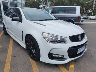 2017 Holden Commodore VF II MY17 SS V Sportwagon Redline White 6 Speed Sports Automatic Wagon.