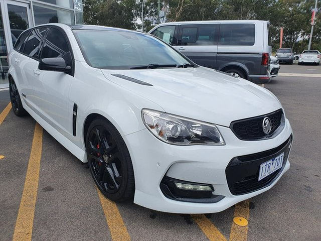Used Holden Commodore VF II MY17 SS V Sportwagon Redline Epsom, 2017 Holden Commodore VF II MY17 SS V Sportwagon Redline White 6 Speed Sports Automatic Wagon