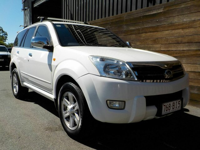 Used Great Wall X240 CC6460KY Labrador, 2010 Great Wall X240 CC6460KY White 5 Speed Manual Wagon
