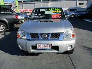 2009 Nissan Navara D22 STR 4x4 Silver 5 Speed Manual Dual Cab.
