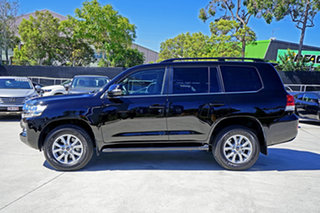 2019 Toyota Landcruiser VDJ200R VX Black 6 Speed Sports Automatic Wagon