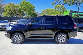 2019 Toyota Landcruiser VDJ200R VX Black 6 Speed Sports Automatic Wagon