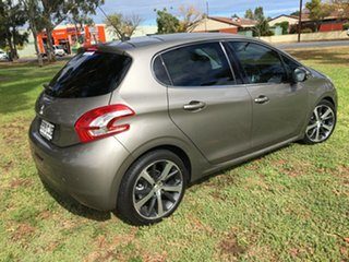 2014 Peugeot 208 A9 MY14 Allure Premium Grey & Silver 4 Speed Automatic Hatchback.