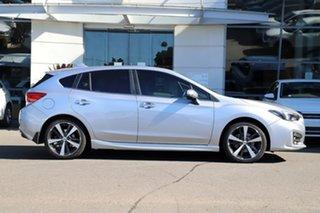 2018 Subaru Impreza G5 MY18 2.0i-S CVT AWD Silver, Chrome 7 Speed Constant Variable Hatchback.