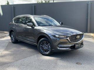 2021 Mazda CX-8 KG2WLA Touring SKYACTIV-Drive FWD Machine Grey 6 Speed Sports Automatic Wagon.