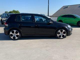 2011 Volkswagen Golf VI MY12 GTI DSG Black 6 Speed Sports Automatic Dual Clutch Hatchback.