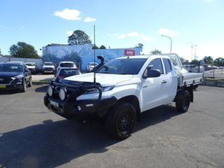 2021 Mitsubishi Triton MR MY21 GLX Club Cab ADAS White 6 Speed Automatic Cab Chassis.