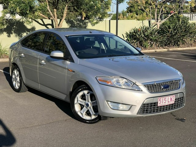 Used Ford Mondeo MA TDCi Chermside, 2008 Ford Mondeo MA TDCi Silver 6 Speed Sports Automatic Hatchback