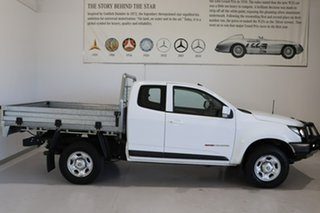 2018 Holden Colorado RG MY18 LS Space Cab White 6 Speed Manual Cab Chassis.