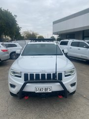 2013 Jeep Grand Cherokee WK MY2014 Overland White 8 Speed Sports Automatic Wagon.