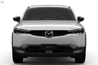 2021 Mazda MX-30 DR2W7A G20e SKYACTIV-Drive Touring White 6 Speed Sports Automatic Wagon.