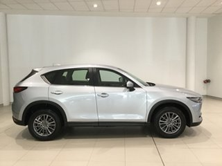 2017 Mazda CX-5 KF2W7A Maxx SKYACTIV-Drive FWD Sport Sonic Silver 6 Speed Sports Automatic Wagon.