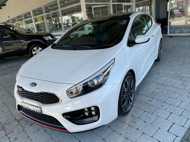 Used Kia Pro_cee'd GT Taree, 2014 Kia Pro_ceed GT White Manual Hatchback