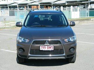 2012 Mitsubishi Outlander ZH MY12 LS Grey 6 Speed CVT Auto Sequential Wagon.