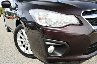 2013 Subaru Impreza G4 MY13 2.0i-L Lineartronic AWD Deep Cherry 6 Speed Constant Variable Hatchback.