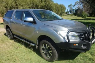 2019 Mazda BT-50 UR0YG1 XTR Silver 6 Speed Sports Automatic Utility.