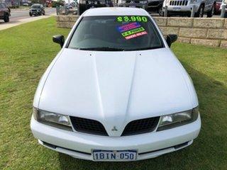 2003 Mitsubishi Magna TJ Series 2 Executive White 4 Speed Sports Automatic Sedan