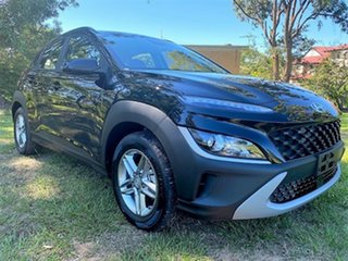 2021 Hyundai Kona Os.v4 MY21 2WD Phantom Black 8 Speed Constant Variable Wagon.