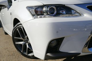 2017 Lexus CT ZWA10R MY16 CT200h F Sport White 1 Speed Constant Variable Hatchback Hybrid.