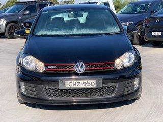 2011 Volkswagen Golf VI MY12 GTI DSG Black 6 Speed Sports Automatic Dual Clutch Hatchback