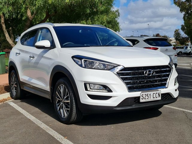 Used Hyundai Tucson TL3 MY19 Elite 2WD Nailsworth, 2019 Hyundai Tucson TL3 MY19 Elite 2WD White 6 Speed Automatic Wagon