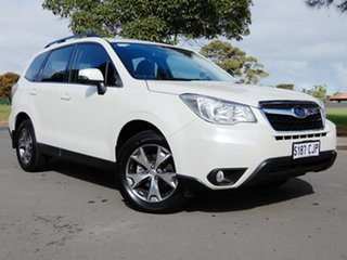 2014 Subaru Forester S4 MY14 2.5i Lineartronic AWD Luxury White 6 Speed Constant Variable Wagon