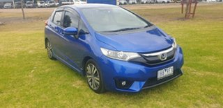 2016 Honda Jazz GF MY16 VTi-L Blue 1 Speed Constant Variable Hatchback.