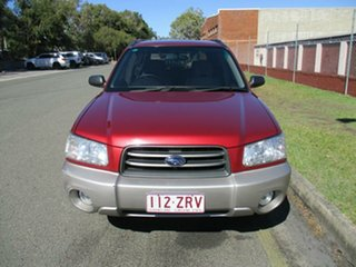2002 Subaru Forester 79V MY03 XS AWD Red 4 Speed Automatic Wagon.