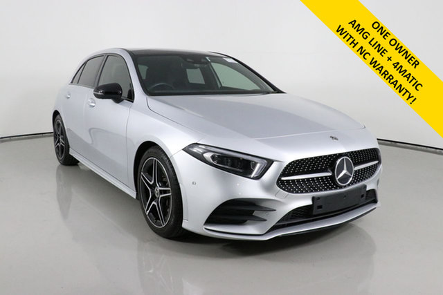 Used Mercedes-Benz A250 177 MY19 4Matic AMG Line Bentley, 2019 Mercedes-Benz A250 177 MY19 4Matic AMG Line Silver 7 Speed Auto Dual Clutch Hatchback