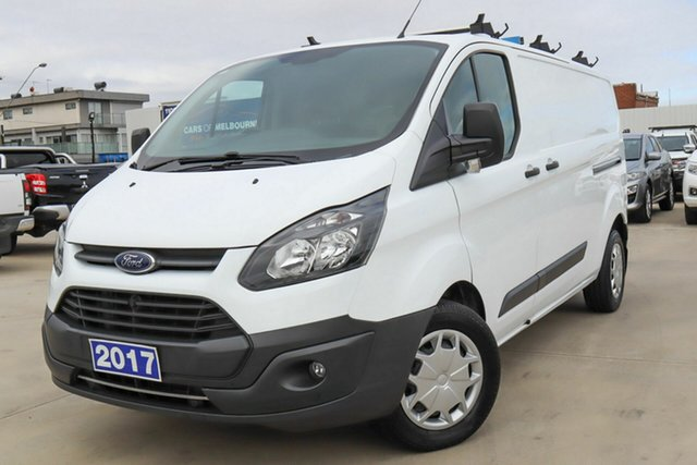 Used Ford Transit Custom VN 340L (Low Roof) Coburg North, 2017 Ford Transit Custom VN 340L (Low Roof) White 6 Speed Automatic Van