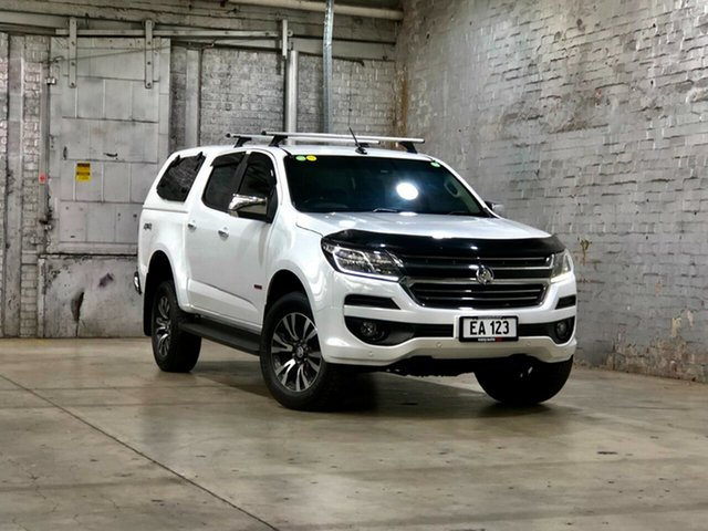 Used Holden Colorado RG MY18 LTZ Pickup Crew Cab Mile End South, 2017 Holden Colorado RG MY18 LTZ Pickup Crew Cab White 6 Speed Manual Utility