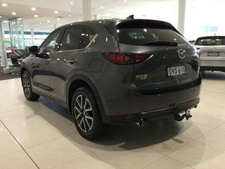 2018 Mazda CX-5 KF4W2A Akera SKYACTIV-Drive i-ACTIV AWD Machine Grey/kf 6 Speed Sports Automatic