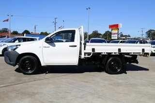 2016 Toyota Hilux TGN121R Workmate 4x2 Glacier White 6 Speed Automatic Cab Chassis