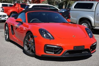 2014 Porsche Boxster 981 MY15 GTS PDK Red 7 Speed Sports Automatic Dual Clutch Convertible.
