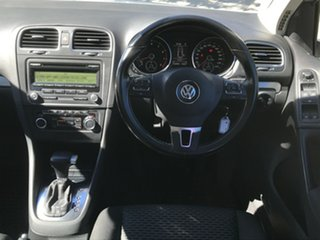 2009 Volkswagen Golf VI 90TSI DSG Trendline Gold 7 Speed Sports Automatic Dual Clutch Hatchback.
