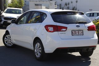 2011 Kia Cerato TD MY11 SI Clear White 6 Speed Sports Automatic Hatchback.