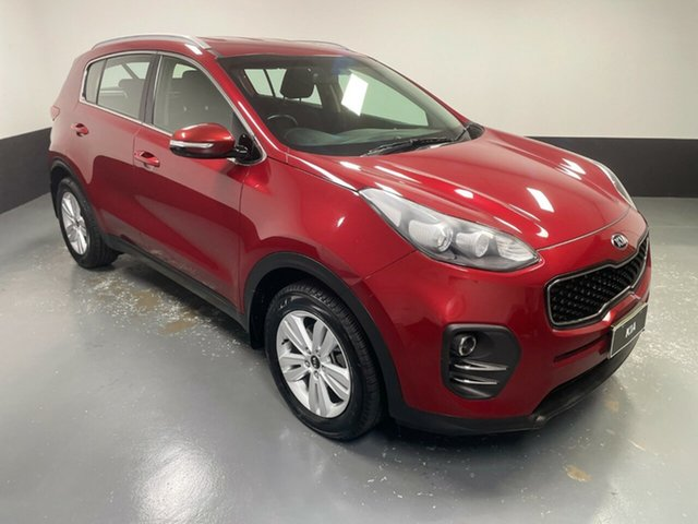 Used Kia Sportage QL MY18 Si 2WD Hamilton, 2018 Kia Sportage QL MY18 Si 2WD Red 6 Speed Sports Automatic Wagon